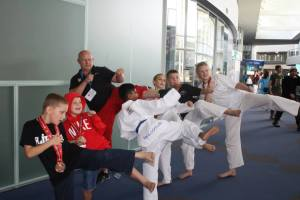 Tans Taekwondo Ipswich 2013 Nationals champion students & coach!