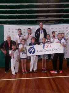 Congratulations to Ipswich Tans Taekwondo students who competed at the Gold Coast Open