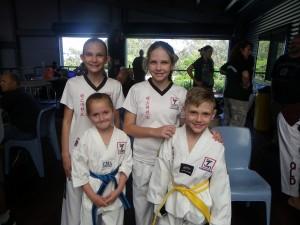 Taekwondo Ipswich Competitors