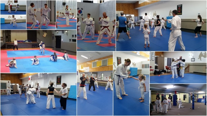 Tans Taekwondo at Ipswich Police Citizens Youth Club